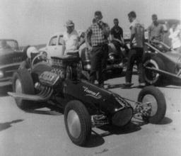 Bobby Langley California vs Florida Challenge 1958 Houston International Raceway